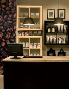 Inspirational Coffee Shop Wall Design Lovely A Coffee Shop Setup From Ikea Business Here We See A