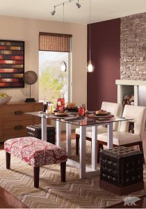Inspirational Two tone Living Room Paint Ideas Awesome A Subtle Red Like Behr Paint In Chipotle Paste and Renoir