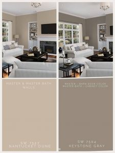 Inspirational Two tone Living Room Paint Ideas New Master Color Ideas
