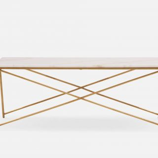 Marble Console Table Inspirational Etta Almond Marble Coffee Table 120cm In 2019