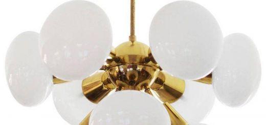 Mid Century Chandelier Best Of Midcentury Sputnik Milk Glass Chandelier In 2019