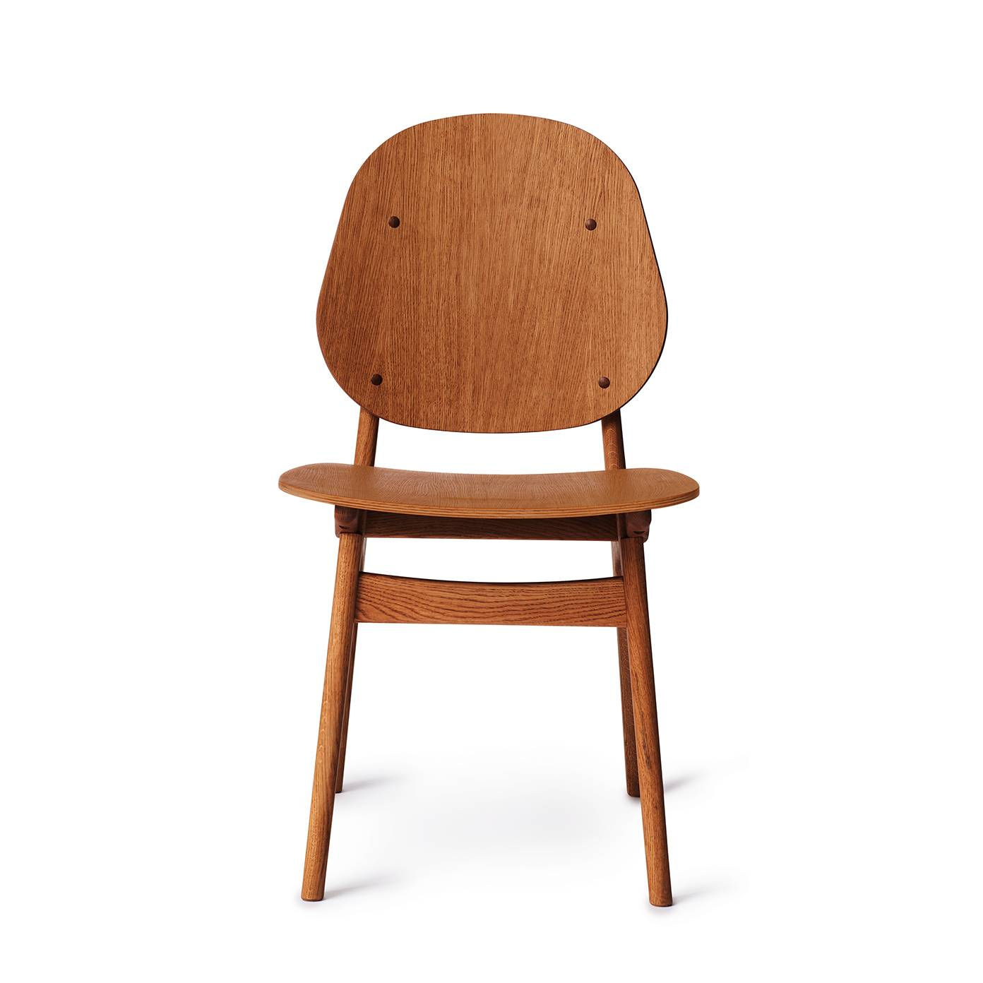 warmnordic furniture noble diningchair teak oiledoak 1392x1392