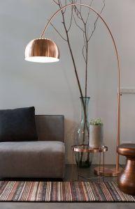 Modern Floor Lamp Unique Metal Bow Floor Lamp