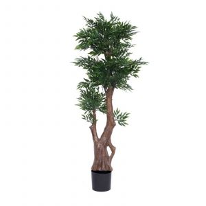 New Artificial Decorative Indoor Trees Awesome Vickerman 5 Ft Artificial Ruscus Tree In Plastic Pot