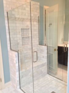 No Threshold Shower Awesome Updated Shower Walk In Shower with Two Glass Doors All