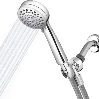 Picturesque Ecoflow Hand Held Shower Head Lovely Waterpik Vlr 643 Shower Head High Pressure Hand Held Powerspray Detachable 6 Spray Settings and 5 Hose Chrome