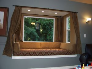 Picturesque Ideas for Window Treatments for Bay Windows New Bay Window Design Creativity