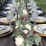 Picturesque Table Centerpiece Ideas Inspirational This Beautiful Eucalyptus and Rose Garland is Perfect