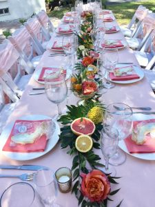 Picturesque Table Centerpiece Ideas Lovely Beautiful Garden Party Centerpieces Using Fruit as Decor