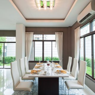 Picturesque Yellow and Grey Decor Unique 101 Dining Room Decor Ideas Styles Colors and Sizes