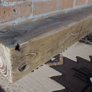 "Reclaimed Wood Mantel Awesome Reclaimed Wood Fireplace Mantel 76"" X 5 1 2"" X 5 1 2"" Pine"