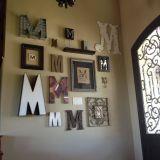 Remarkable Key Rack Ideas Elegant Monogram Wall