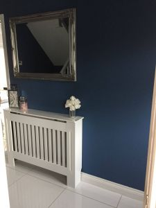 Remarkable Radiator Covers Beautiful Blue Hallway Navy Radiator Cover White Styling Interior