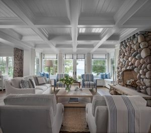 Remarkable Sunroom Furniture New A Chic Harbor Springs Cottage On the Lake Michigan Coast