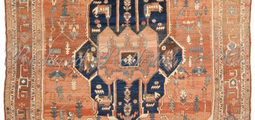 Rug On Carpet Lovely Antique Classic Serapi Rug