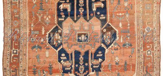 Rug On Carpet Lovely Antique Classic Serapi Rug