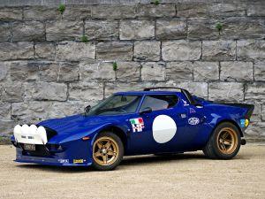 Unique Blue Racecar Best Of 1974 Lancia Stratos Hf [4000x3000]