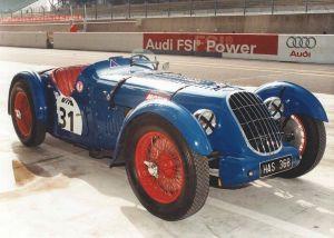 Unique Blue Racecar Elegant Rare Supercharged British Racer 1936 2 Litre Alta Sports