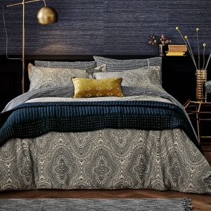 Unique Gray and Yellow Bedding Beautiful Modern Tribal Print Bedding