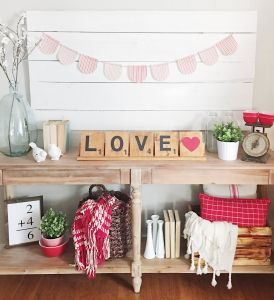 Valentine Day Decoration Living Room Fresh Scrabble Tiles Perfect for Valentines Day Farmhouse
