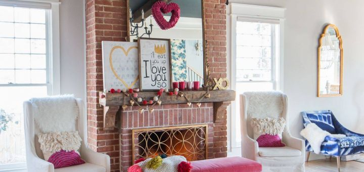 Valentine Day Decoration Living Room Lovely Our Colorful Whimsical & Elegant Valentine S Day Living