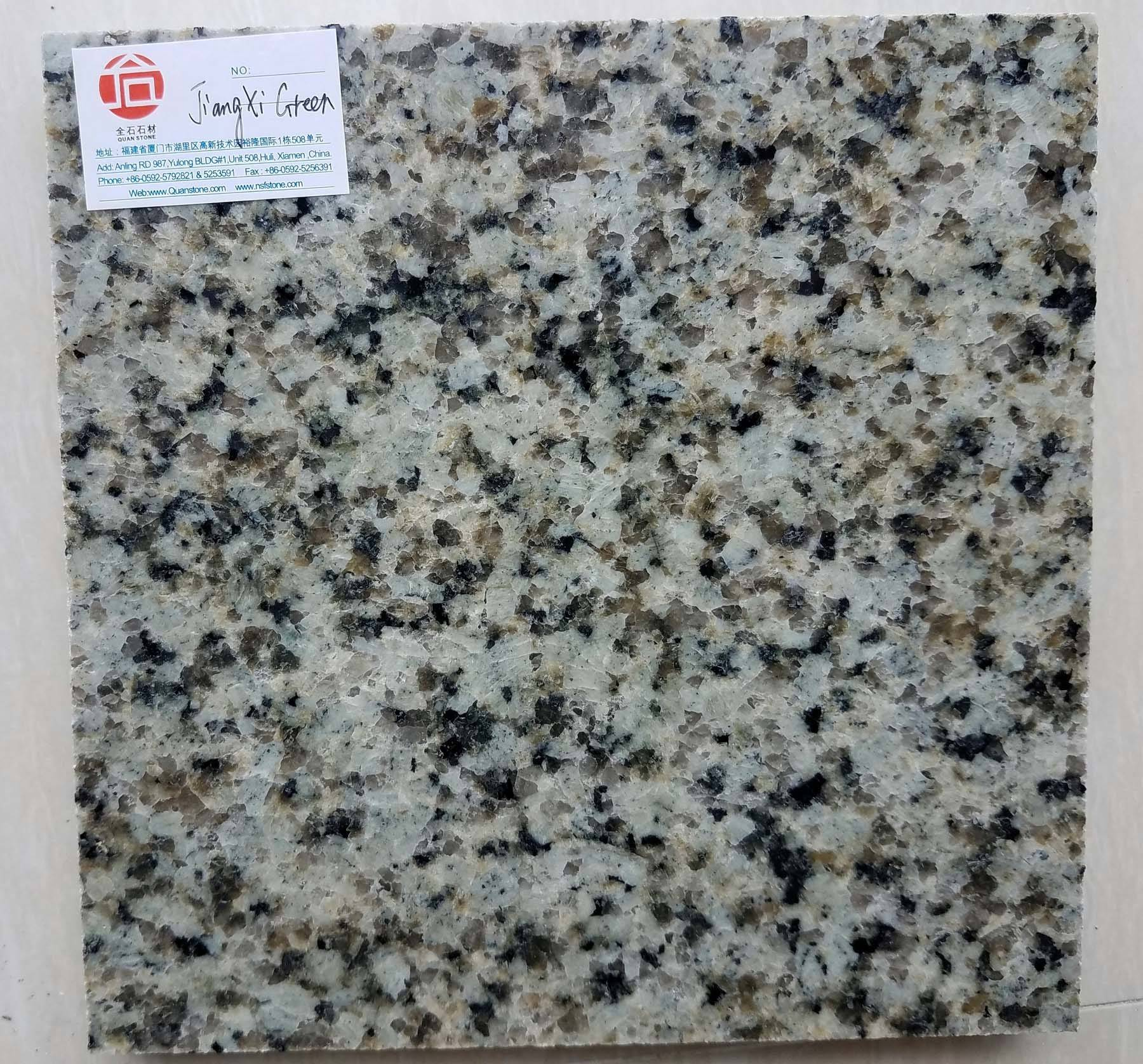 Jiangxi Green Verde Granite Tile Cost for Wall Facade System Covering