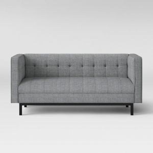 White Tufted sofa Awesome Project 62 Cologne Tufted Track Arm sofa Project 62 In