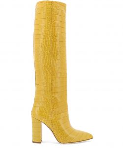 Yellow and Tan Best Of Paris Texas Shoes Boots Women Yellow
