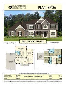9 Foot Ceilings Best Of Plan 3706 the Hawks Haven