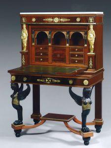 "Antique Secretary Desk Inspirational Jacob Desmalter attributed to A Small Sécretaire ""aux"