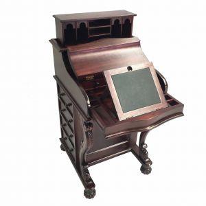 Antique Secretary Desk Lovely solid Mahogany Wood Davenport Desk