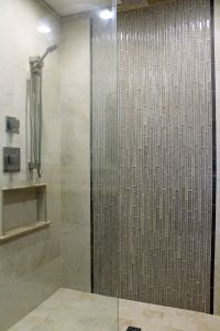 Bathroom Tile Ideas Best Of Master Shower Design Beige Wall Tile with Gray Glass