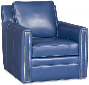 Blue Leather Chair New Blue Leather Swivel Chair From Wellington S Leather