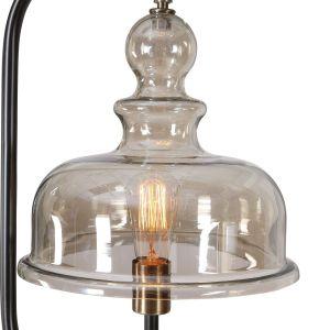 Chandelier Floor Lamp New Elieser Industrial Antiqued Brushed Brass Floor Lamp