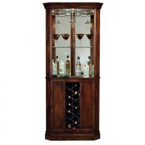 Corner Bar Cabinet Lovely Howard Miller Piedmont Elegant Contemporary Sleek and Chic