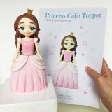 Exceptional Clay Ideas Cute Inspirational Princess Cake topper Pdf Tutorial with Templates