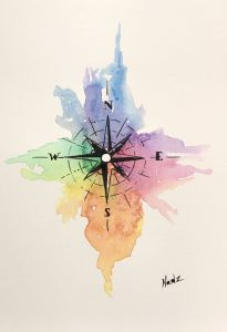 Fantastic Simple Painting Ideas for Beginners Inspirational Watercolor Painting Etsy Pass T Idea