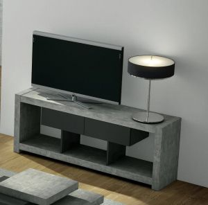 Floating Tv Stand Lovely Temahome Concrete Tv Stand