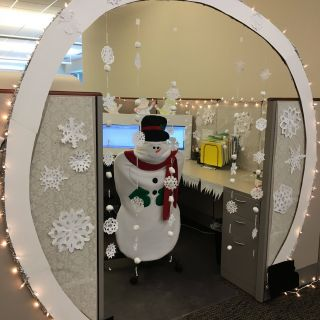 Fresh Design Cubicle Privacy Ideas Unique 23 Super Simple Christmas Decorations to Upgrade Your Fice