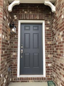 Front Door Ideas New Standard 6 Panel Front Door Painted
