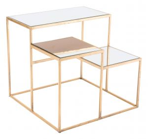 Gold Side Table Inspirational Labels Gold End Table Gold Finish