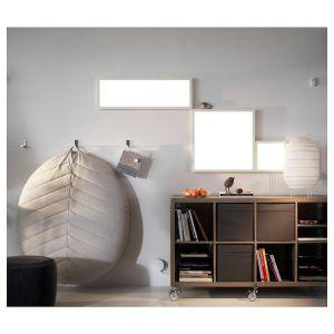 """Ikea Track Lighting Lovely Led Light Panel Dimmable White Spectrum 24x24 """""""