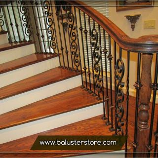 Iron Stair Railing Beautiful Iron Stair Balusters Parts Iron Handrails Interior Stair
