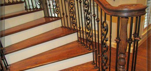 Iron Stair Railing Beautiful Iron Stair Balusters Parts Iron Handrails Interior Stair