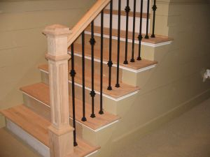 Iron Stair Railing Luxury Double Knuckle Single Knuckle and Plain Wrought Iron