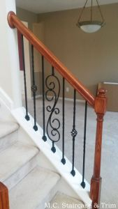 Iron Stair Railing Luxury Iron Baluster Upgrade From M C Staircase & Trim Removal Of