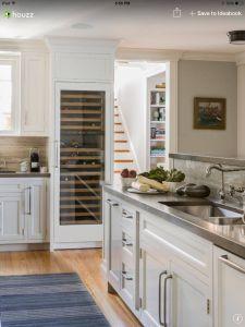 Kitchen Ideas Houzz Elegant Love the Full Size Wine Fridge