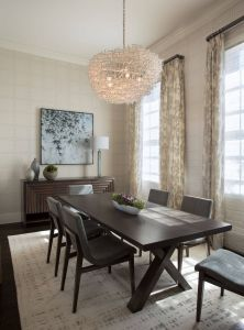 Kitchen Table Lighting New Daher Design Creates A Stunning Dining Room Design Featuring