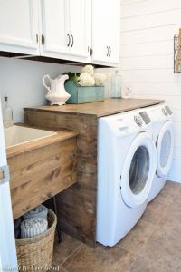 Laundry Room Sink Awesome Alape Bucket Sink with Navy Trim In 2019