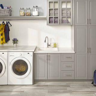 "Laundry Room Sink Beautiful Quartz Classic 25"" X 22"" X 11 13 16"" Drop In Laundry Sink"